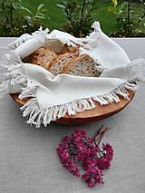 Úžitkový textil - Ľanový obrúsok, plátenko  Simplicity  - 11137015_