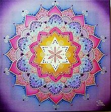 Obrazy - Mandala harmónie a svetla života - 11134115_