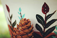 Nádoby - Terakotový kvetináč - Rastlinkový (veľký) - 11136591_