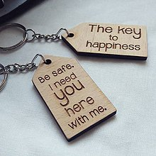 Kľúčenky - Kľúčenka - domček - 11136419_
