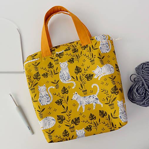 Cool mačky ~ tvoritaška + nákupná taška