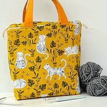 Iné tašky - Cool mačky ~ tvoritaška + nákupná taška - 11136260_