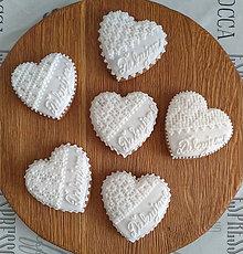 """Darčeky pre svadobčanov - Perníkové srdce """"STREDNÉ Ďakujeme"""" - 11135681_"""