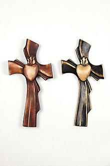 Darčeky pre svadobčanov - Svadobný krížik - 11136794_