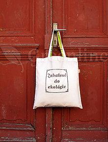 Nákupné tašky - Nákupná taška / Zabalené do ekológie / I. - 11134429_