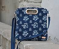 - Modrotlačová kabelka Elen modrá 2 ZLACNENÁ z 44€ - 11133987_