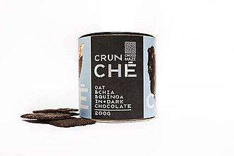 Potraviny - CRUNCHÉ ovsené vločky, chia, quinoa - 11134801_