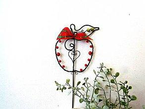 Dekorácie - jabĺčko - zapichovacie - 11134667_