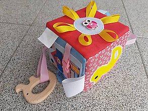 Hračky - Susugo Montessori kocka. - 11136250_