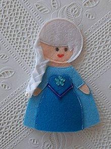 Hračky - Susugo Filcová bábika prstová maňuška. - 11136331_