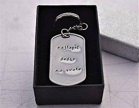 Doplnky - Kľúčenka -najlepší dedko na svete - zľava 3€ - 11135071_