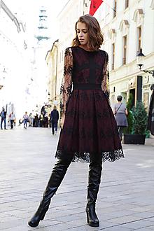 Šaty - Šaty čipková dáma - 11139984_