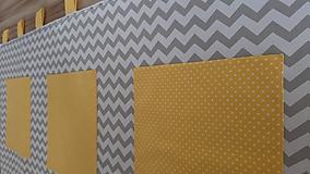 Úžitkový textil - Zástena za posteľ ...slnko - 11137330_