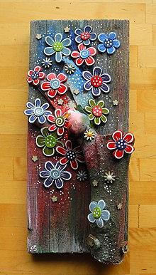 Dekorácie - Farebný strom - 11140013_