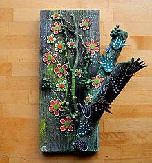 Dekorácie - Zelený strom - 11140048_