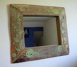 Zrkadlá - Zrkadlo Ťahavé kvety - 11140192_