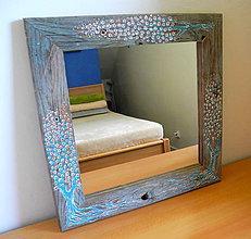 Zrkadlá - Zrkadlo Tyrkysové stromy - 11140220_