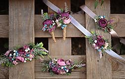 Pierka - Svadobné pierko pre ženícha Rustic - 11139654_