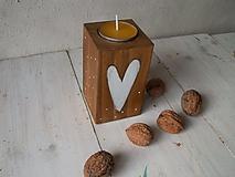 Svietidlá a sviečky - Prírodné svietniky - najväčší - 11137377_