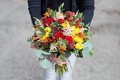 Svadobná kytica živá - Vôňa jesene
