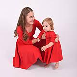 Šaty - Dámske šaty - red 3/4 rukáv - 11137626_