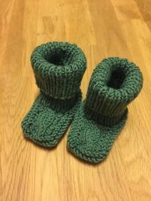Topánočky - Teplé detské ponožky - 11139646_