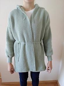 Kabáty - Pletené kabáty - 11139109_