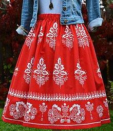Sukne - Dámska sukňa - folk / folklórna - 11137455_