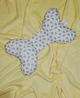 Textil - stabilizačný vankúšik -lístočky - 11137227_