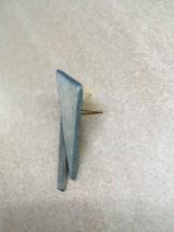 Náušnice - Drevené napichovacie náušnice  - 11139882_