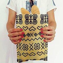 Úžitkový textil - Voskované vrecúško Čičmany - 11139675_