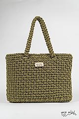 - Háčkovaná taška STELA, avocado - 11139631_