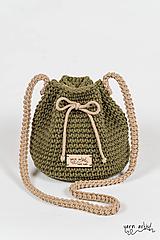 - Háčkovaná taška MIA, avocado - 11139783_