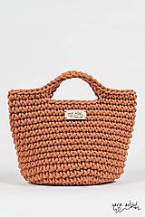 - Háčkovaná taška LEA, terracotta - 11140198_