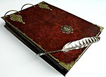 Papiernictvo - Svadobný album/Album na fotky/Fotoalbum/Royal kráľovský fotoalbum/Kronika - 11137597_