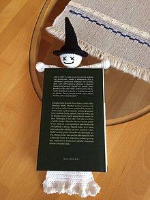 Knihy - Záložka do knihy -strašidlo - 11137305_