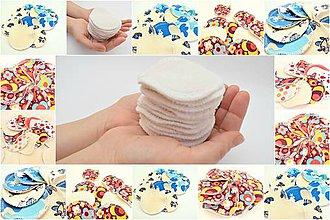 Úžitkový textil - Zero Waste  odličovacie tampóny Biobavlna/Bambus - 11137434_