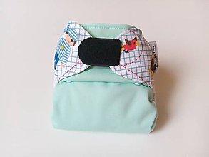 """Detské doplnky - Novorodenecké Vrchné PUL plienkové nohavičky(veľ. XS-S) """"Malý pirát"""" - 11137778_"""