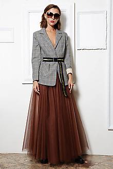 Sukne - Tylová sukňa Aténa - 11143319_