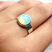 Prstene - Opalite & Silver Ring / Prsteň s opalitom v striebornom prevedení - 11141374_