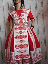 "Šaty - ""Bičianka z doliny"", ľudové šaty, ako vyšívané .... - 11141357_"