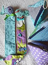 Knihy - Rybací set:       záložka, obal na knihy, peňaženka - 11140612_