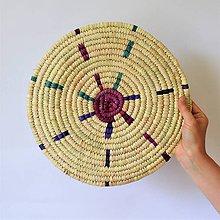 Pomôcky - Africký závesný kruh na stenu - 11141856_