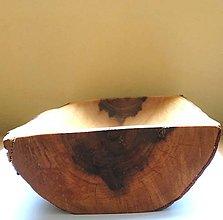 Nádoby - Drevená miska - Jelšová 2 - 11142763_
