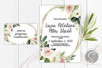 Papiernictvo - Svadobné oznámenie - SO085 - 11141117_