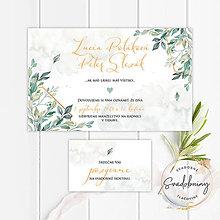 Papiernictvo - Svadobné oznámenie - SO100 - 11142166_