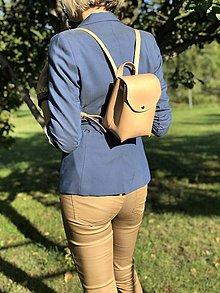 Batohy - Kožený ruksak NO.52 - 11143110_
