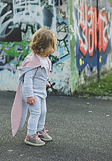 Detské oblečenie - Overal Bunny grey melange - 11140828_
