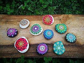 Drobnosti - Mandala na kameni - 11141633_