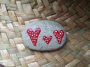 """Drobnosti - Maľovaný kamienok """"Láska"""" - 11143631_"""